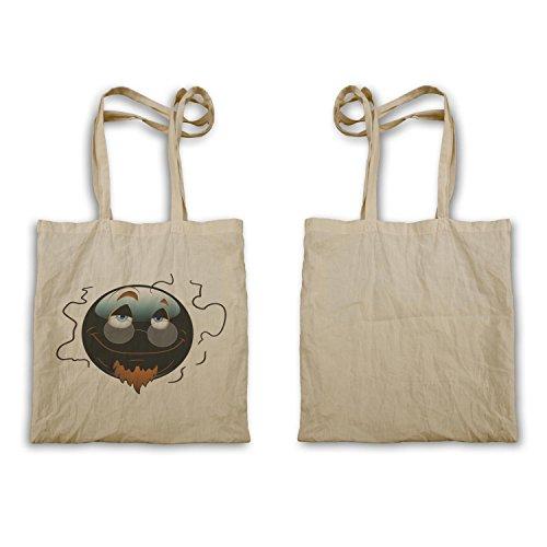 Smiley Con Gli Occhiali Viso Novità Divertente Vintage Art Bag Per Il Trasporto A281r