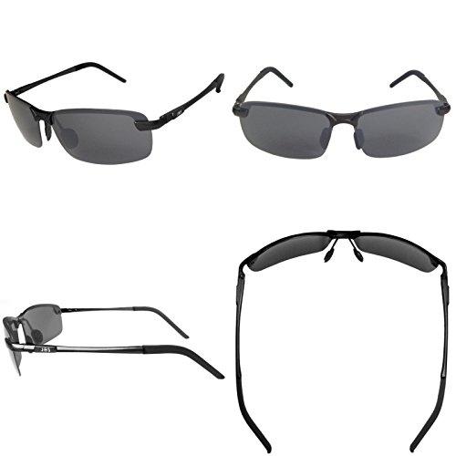 a3ba277a3e1 J+S Ultra Lightweight Men s Rimless Sports Sunglasses ...