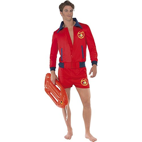 Mens Baywatch Lifeguard Costume