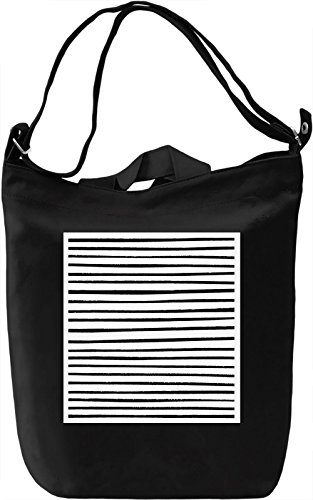 Stripes Borsa Giornaliera Canvas Canvas Day Bag| 100% Premium Cotton Canvas| DTG Printing|