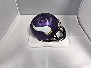 Randy Moss Signed Autographed Minnesota Vikings Mini Helmet COA & Hologram