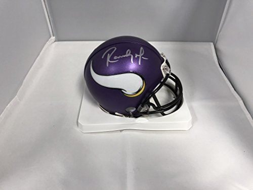Randy Moss Collectibles (Randy Moss Signed Autographed Minnesota Vikings Mini Helmet COA & Hologram)