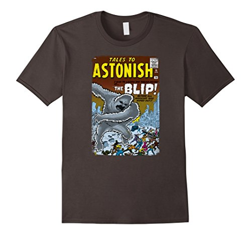 Marvel+Comics+Retro+Shirt Products : Marvel Monsters Unleashed Retro Comic Intro THE BLIP T-Shirt