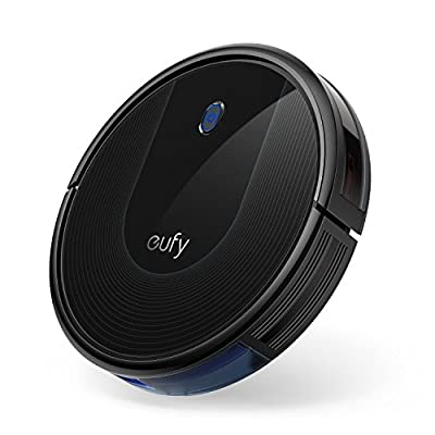 eufy [BoostIQ] RoboVac 30, Upgraded, Super-Thin, 1500Pa Strong Suction, 13 ft Boundary Strips Included, Quiet, Self-Charging Robotic Vacuum Cleaner, Cleans Hard Floors to Medium-Pile Carpets