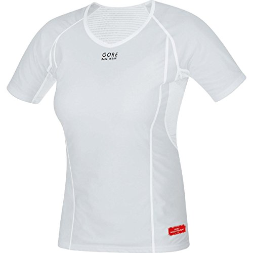 Gore Bike WEAR Women's Base Layer Windstopper Lady Shirt, XXL, Light Grey/White