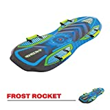 Airhead Frost Rocket 2 Person Foam Toboggan Snow Sled