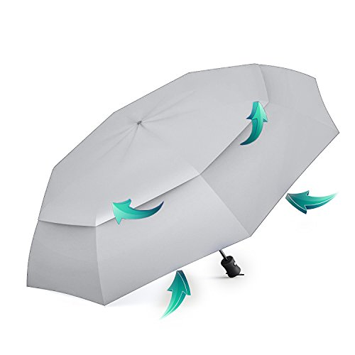 Price comparison product image BEST TRAVEL UMBRELLAS for Smart Women & Men, Premium Windproof & Compact Umbrella for Rain & UV Protection, Lightweight for Kids to Hold, Cool Auto Open & Close Button, Perfect for Outdoor Adventures!