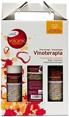 Spacial regalo. Aloe Plus Pack de Lanzarote. Vino. Vino cuerpo loción 200 ml de vino Sales de baño, 300 g, vino cuerpo aceite 200 ml: Amazon.es: Belleza