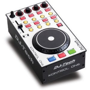 DJ TECH Usb Dj Midi Controller W/ Touch Sensitive Jog Wheel by FIRST AUDIO MANUFACTURING