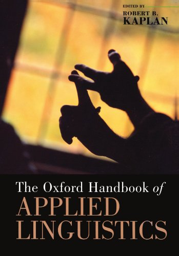 The Oxford Handbook of Applied Linguistics (Oxford Handbooks)