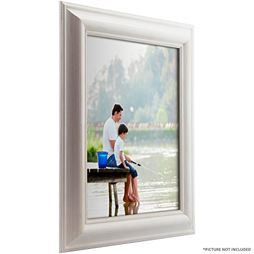 Craig Frames American Classic, White Pine Wood Picture Frame, 11 by - Pine Distressed Finish