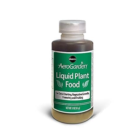 Aerogarden Liquid Plant food 3 ounce nutrients - Liquid Plant Food