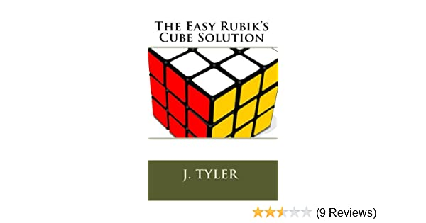 the easy rubik s cube solution kindle edition by j tyler humor