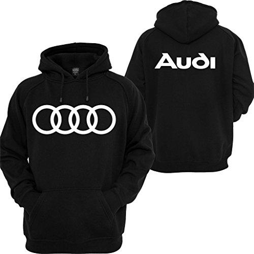 Audi Hoodie Sport Cars JDM dope Audi TT Quattro Turbo Illest Boost Sweatshirt Black