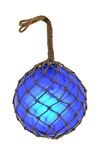 - Nautical Collection Japanese Glass Fishing Floats Assorted Colors Family Fish Net Buoys Large Set (10