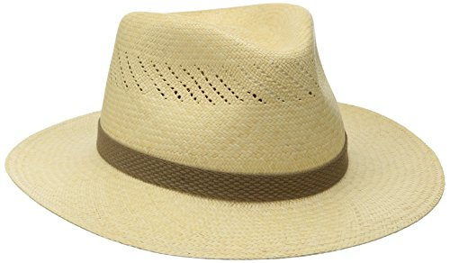 Tommy Bahama Men's Panama Vent Outback Hat, Natural, Small/Medium by Tommy Bahama