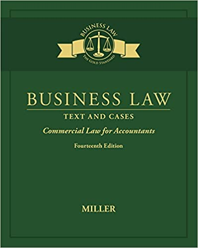 Amazon com: Business Law: Text & Cases - Commercial Law for