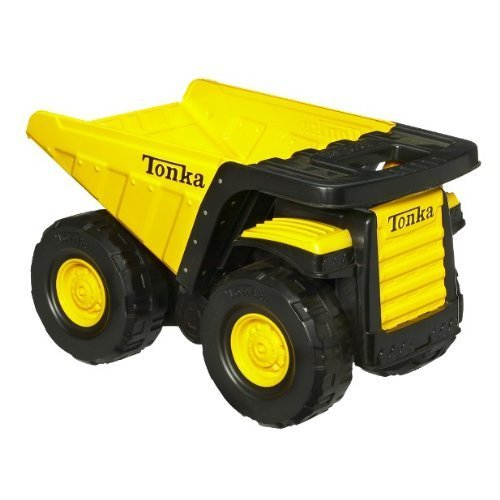 Tonka Toughest Mighty Dump Truck - Classic Steel(age: 3 years and up) (Oversized dump truck measures 18 by 11-1/4 inches; 6-1/2-inch tires) (Tonka Toy Dump Truck)