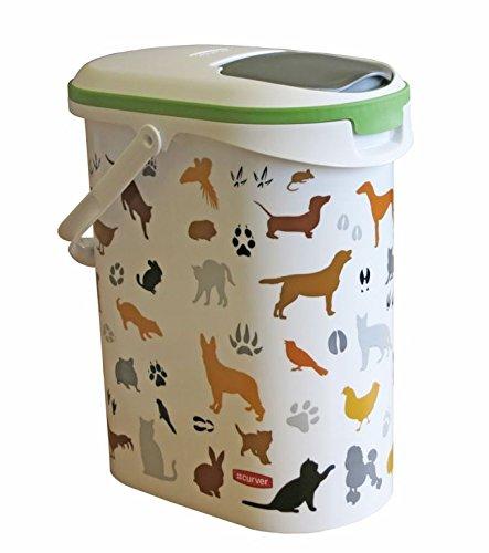 Curver Dry Pet Food Container Multi Pet 4kg