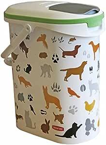 CURVER - Recipiente para alimento seco de Mascotas, 4 kg: Amazon.es: Productos para mascotas