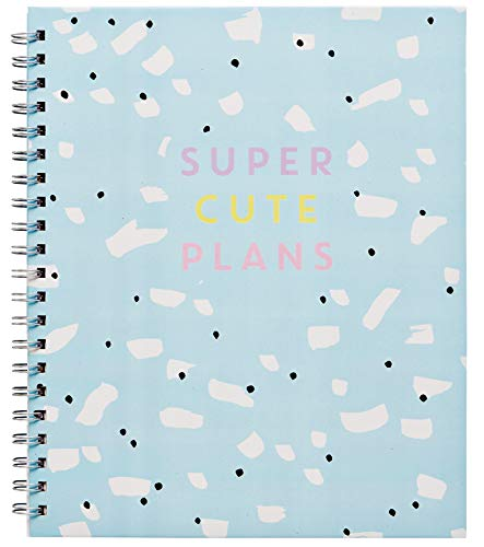 LaurDIY Kawaii Collection Monthly School Planner and and Cute Sticker Sheet, 170 Pages, Agenda
