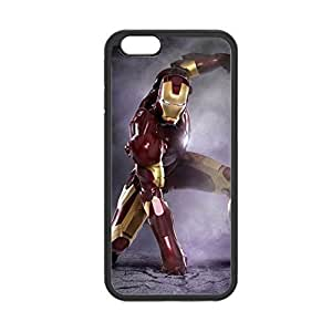 With Iron Man For Iphone 6 Plus 5.5 Apple Plastic Back Phone Case For Guys Choose Design 10