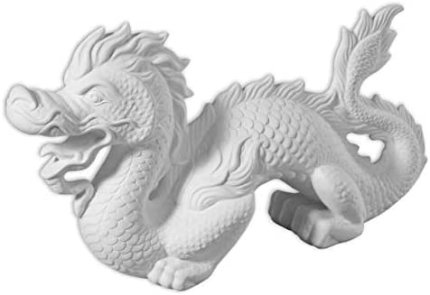 Host Your Own Ceramic Painting Party Extra Large Fancy Detailed Dragon Stunning Detail