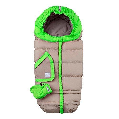 7AM Enfant Blanket 212 Evolution Extendable Baby Bunting Bag Adaptable for Strollers, Black by 7AM Enfant
