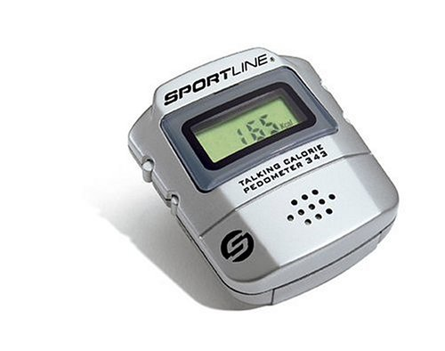 (Sportline 343 Talking Calorie Counter and Pedometer)