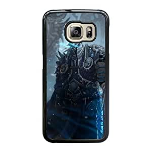 Custom made Case,World of WarCraft-The Lich King Cell Phone Case for Samsung Galaxy S6 Edge, Black Case With Touchscreen Stylus Pen Free S-7296993