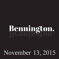 Bennington, Jamie Lissow, November 13, 2015