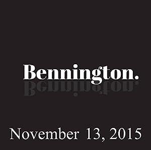 Bennington, Jamie Lissow, November 13, 2015 Radio/TV Program