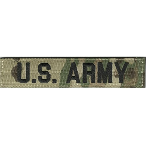 """1"""" x 5"""" MULTICAM Name Tape - U.S. ARMY"""