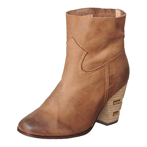 Price comparison product image Antelope Women's 924 Taupe Leather Inset Heel & Stitched Bootie 37