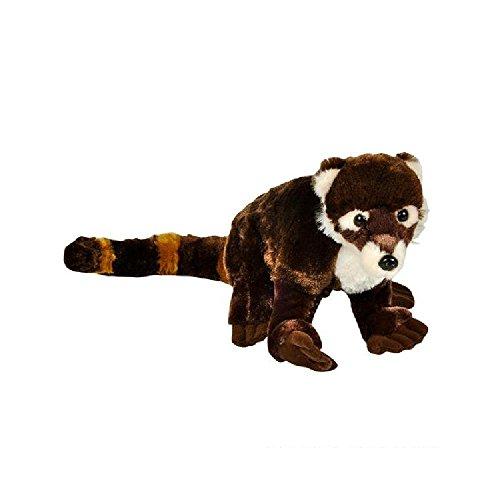 8'' Animal Den Coati Plush (With Sticky Notes) by Bargain World