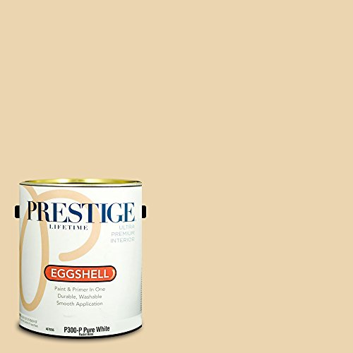 Prestige Paints Interior Paint and Primer In One, 1-Gallon, Eggshell,  Comparable Match of Benjamin Moore - Eggshell Dial