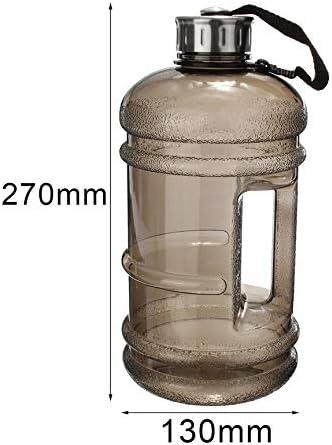 Peanutaoc Botella de Agua de Gran Capacidad para Entrenamiento de Deportes Entrenamiento y Bebidas tama/ño port/átil 2,2 l