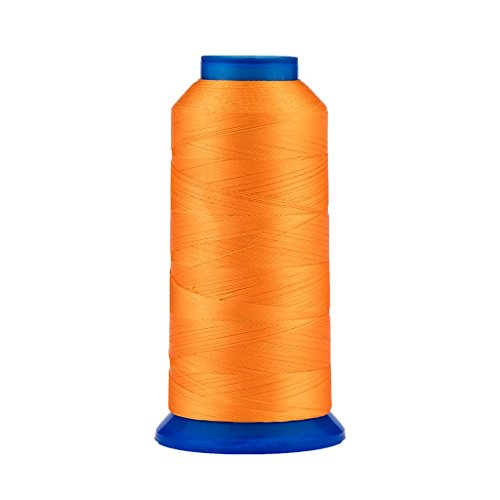 Selric [1500Yards / 130g / 30 Colors Available] UV Resistant High Strength Polyester Thread #69 T70 Size 210D/3 for Upholstery, Outdoor Market, Drapery, Beading, Purses, Leather ()