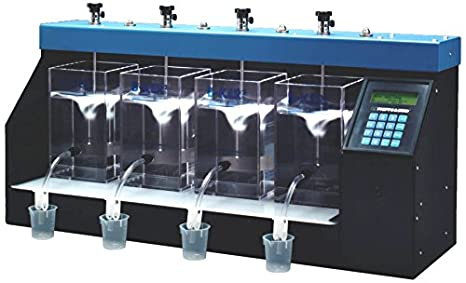 Phipps /& Bird 7790-900 Steel Jar Tester-Lab Stirrer Programmable 6-Paddle with Illuminated Base 42 L x 12 W x 16 H 300 RPM