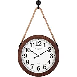 Better Homes and Gardens 12 Hanging Rope Wall Clock