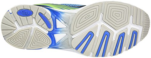 Bruetting Unisex-Erwachsene Runaway Sneaker Blau (Blau/schwarz/lemon)