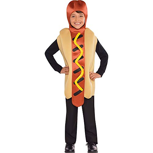 (AMSCAN Hot Diggity Halloween Costume for Boys, Standard, with)