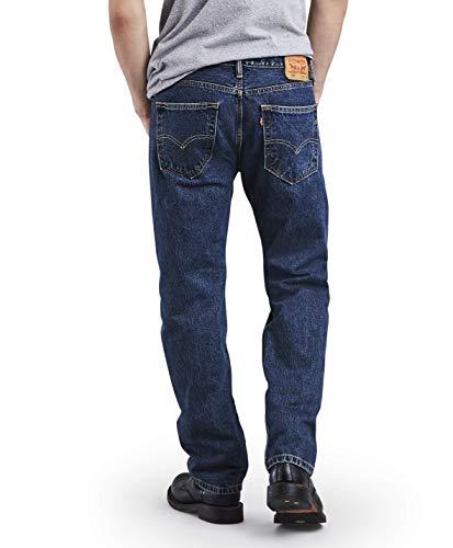Large Product Image of Levi's Men's 505 Regular Fit Jean, Dark Stonewash, 34x32