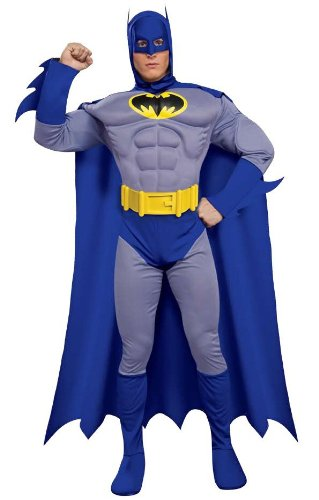 Batman Brave and Bold Deluxe Adult Costume Size: Large