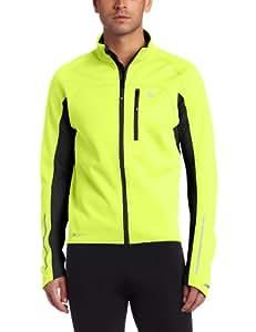 Pearl Izumi Men's Elite Softshell Jacket, Screaming Yellow/Black, Small