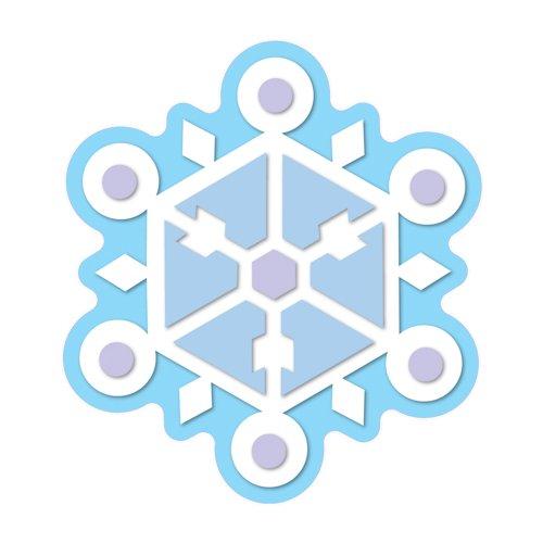 Carson Dellosa Snowflake Cut-Outs