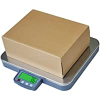 CSS 400 lb Large Digital Shipping Scale 0.1 lb 16 x 14 Platform