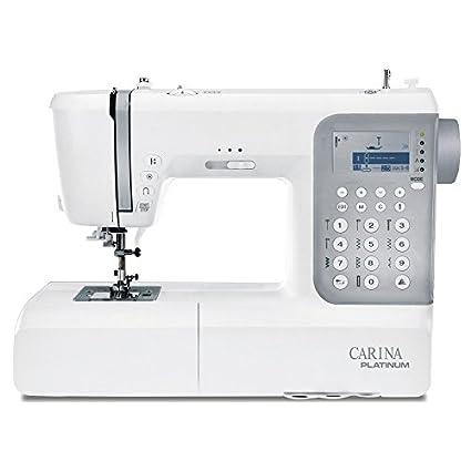 Máquina de coser Carina Platinum 2.1 sucesor de la evolución