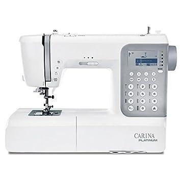 Máquina de coser Carina Platinum 2.1 sucesor de la evolución: Amazon.es: Hogar