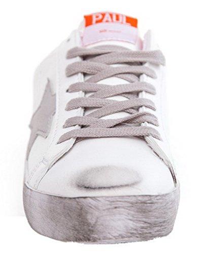 Allhqfashion Mujeres Microfibre Round-toe Low-heels Con Cordones Solid-pumps-Zapatos Pink